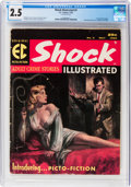Magazines:Crime, Shock Illustrated #3 (EC, 1956) CGC GD+ 2.5 Cream to off-white pages....