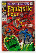 Silver Age (1956-1969):Superhero, Fantastic Four Annual #6 (Marvel, 1968) Condition: FN-....
