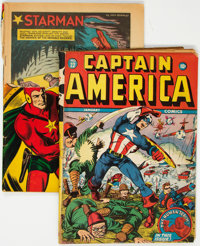 Captain America Comics #22/Adventure Comics #67 Group (Marvel/DC, 1941-43).... (Total: 2 Comic Books)