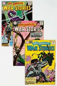 Star Spangled War Stories Group of 9 (DC, 1954-66).... (Total: 9 Comic Books)