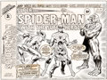 Original Comic Art:Covers, Larry Lieber and Frank Giacoia Super Spider-Man with The Super-Heroes #189 Cover Original Art (Marvel UK, 1976)....