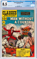 Golden Age (1938-1955):Classics Illustrated, Classics Illustrated #63 The Man Without the Country - First Edition (Gilberton, 1949) CGC VF+ 8.5 Cream to off-white pages....