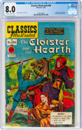 Golden Age (1938-1955):Classics Illustrated, Classics Illustrated #66 The Cloister and the Hearth - First Edition (Gilberton, 1949) CGC VF 8.0 Off-white to white pages....