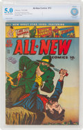 Golden Age (1938-1955):Superhero, All-New Comics #13 (Harvey Publications, 1946) CBCS VG/FN 5.0 Cream to off-white pages....