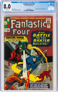 Silver Age (1956-1969):Superhero, Fantastic Four #40 (Marvel, 1965) CGC VF 8.0 Off-white pages....