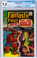 Silver Age (1956-1969):Superhero, Fantastic Four #66 (Marvel, 1967) CGC VF- 7.5 White pages....
