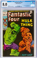Bronze Age (1970-1979):Superhero, Fantastic Four #112 (Marvel, 1971) CGC VF 8.0 Off-white to white pages....
