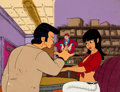 Animation Art:Production Cel, Hey Good Lookin' Vinnie and Roz with Crazy Shapiro Production Cel Key Master Setup with Animation Drawing (Ralph Baksh... (Total: 2 Items)