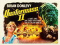 "Movie Posters:Science Fiction, Quatermass II: Enemy from Space (United Artist, 1957). Fine+ on Linen. British Quad (30"" X 40"").. ..."