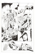 Original Comic Art:Panel Pages, Mark Bagley and John Dell Deadpool: Assassin #5 Story Page 17 Original Art (Marvel Comics, 2018)....
