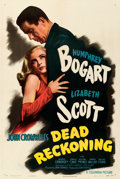 "Movie Posters:Film Noir, Dead Reckoning (Columbia, 1947). Very Fine- on Linen. One Sheet (27.5"" X 41"") Style B.. ..."