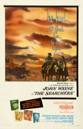 "Movie Posters:Western, The Searchers (Warner Bros., 1956). Very Good/Fine on Linen. One Sheet (27"" X 42"").. ..."