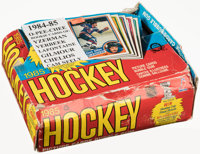 1984-85 O-Pee-Chee Hockey Box With 26 Unopened Packs