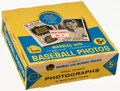 Non-Sport Cards:Unopened Packs/Display Boxes, 1960 Leaf Baseball 2nd Series Display Box....