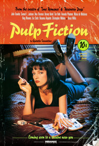 "Pulp Fiction (Miramax, 1994). Rolled, Very Fine/Near Mint. One Sheet (27"" X 40"") SS Withdrawn Advance, Lucky S..."