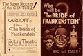 "Movie Posters:Horror, The Bride of Frankenstein (Universal, 1935). Folded, Fine/Very Fine. Herald (Closed: 7"" X 9.5"", Opened: 14"" X 9.5"").. ..."