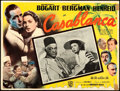 "Movie Posters:Academy Award Winners, Casablanca (Warner Bros., R-1950s). Fine. Mexican Lobby Card (16.5"" X 12.5"").. ..."