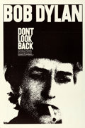 "Movie Posters:Rock and Roll, Don't Look Back (Leacock-Pennebaker, 1967). Folded, Very Fine+. One Sheet (27"" X 41"").. ..."