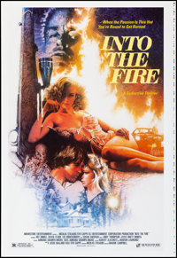"Into the Fire (Moviestore Entertainment, 1988). Rolled, Near Mint. Printer's Proof One Sheet (28"" X 41"") SS. C..."