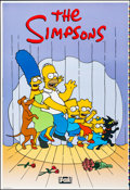 """Movie Posters:Animation, The Simpsons (20th Century Fox, 1997). Rolled, Very Fine/Near Mint. Printer's Proof Television One Sheet (28"""" X 41"""") SS. Mat..."""