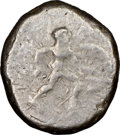Ancients:Greek, Ancients: PAMPHYLIA. Aspendus. Ca. mid-5th century BC. AR stater (21mm, 1h). NGC Fine....