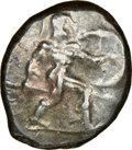 Ancients:Greek, Ancients: PAMPHYLIA. Aspendus. Ca. mid-5th century BC. AR stater (21mm, 11h). NGC VF....