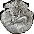 Ancients:Greek, Ancients: CALABRIA. Tarentum. Ca. early 3rd century BC. AR stater or didrachm (21mm, 9h). NGC VF....
