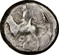 Ancients:Greek, Ancients: CILICIA. Tarsus. Ca. late 5th century BC. AR stater (20mm, 9.49 gm, 7h). NGC VF 3/5 - 4/5....