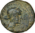 Ancients:Roman Provincial , Ancients: PTOLEMAIC EGYPT. Cleopatra VII and Marc Antony, rulers of the East (37-31 BC). AE (21mm, 12h). NGC VG....