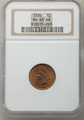 Indian Cents: , 1890 1C MS65 Red and Brown NGC. NGC Census: (78/0). PCGS Population: (52/9). CDN: $600 Whsle. Bid for problem-free NGC/PCGS...