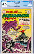 Silver Age (1956-1969):Superhero, Showcase #30 Aquaman (DC, 1961) CGC VG+ 4.5 Cream to off-white pages....