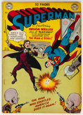 Golden Age (1938-1955):Superhero, Superman #62 (DC, 1950) Condition: VG/FN....