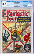 Silver Age (1956-1969):Superhero, Fantastic Four #17 (Marvel, 1963) CGC VG- 3.5 Cream to off-white pages....