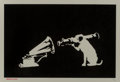 Banksy (b. 1974) HMV, 2018 Screenprint on paper 13-1/2 x 19-1/2 inches (34.3 x 49.5 cm) (sheet)