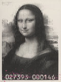 Fine Art - Work on Paper:Print, Mr. Brainwash (b. 1966). Mona Lisa Barcode, 2008. Screenprint in colors on wove paper. 30 x 20 inches (76.2 x 50.8 cm) (...
