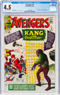Silver Age (1956-1969):Superhero, The Avengers #8 (Marvel, 1964) CGC VG+ 4.5 Off-white to wh...