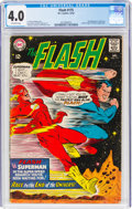 Silver Age (1956-1969):Superhero, The Flash #175 (DC, 1967) CGC VG 4.0 Off-white pages....