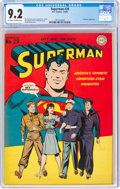 Golden Age (1938-1955):Superhero, Superman #29 (DC, 1944) CGC NM- 9.2 Off-white to white pages....