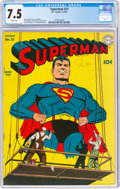 Golden Age (1938-1955):Superhero, Superman #21 (DC, 1943) CGC VF- 7.5 White pages....