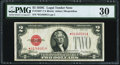 Small Size:Legal Tender Notes, Fr. 1504* $2 1928C Legal Tender Star Note. PMG Very Fine 30.. ...