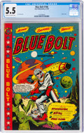 Golden Age (1938-1955):Science Fiction, Blue Bolt #106 (Star Publications, 1950) CGC FN- 5.5 Cream to off-white pages....