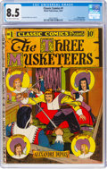 Golden Age (1938-1955):Classics Illustrated, Classic Comics #1 The Three Musketeers - First Edition (Elliott Publications, 1941) CGC VF+ 8.5 Off-white to white pages....