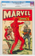 Golden Age (1938-1955):Superhero, Marvel Mystery Comics #89 Mile High Pedigree (Timely, 1948) CGC VF+ 8.5 White pages....