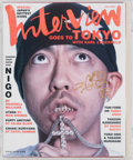 Collectible, Nigo X Interview Magazine. Interview Magazine, 2005. Offset lithograph in colors on paper. 11-3/4 x 10 inches (29.8 x 25...