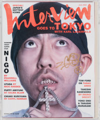 Nigo X Interview Magazine Interview Magazine, 2005 Offset lithograph in colors on paper 11-3/4 x 10 inches (29.8 x 25