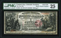 Central City, CO - $5 1875 Black Charter Number Fr. 401 The First National Bank Ch. # 2129 PMG Very Fin