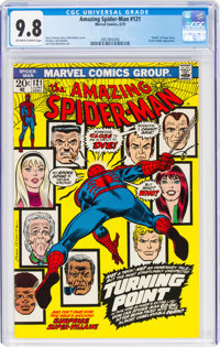 The Amazing Spider-Man #121 (Marvel, 1973) CGC NM/MT 9.8 Off-white to white pages