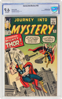 Journey Into Mystery #95 Bethlehem Pedigree (Marvel, 1963) CBCS NM+ 9.6 Off-white pages