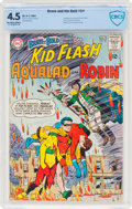 Silver Age (1956-1969):Superhero, The Brave and the Bold #54 Kid Flash, Aqualad, and Robin (DC, 1964) CBCS VG+ 4.5 Off-white to white pages....