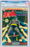 Bronze Age (1970-1979):Superhero, The Brave and the Bold #89 Batman and the Phantom Stranger (DC, 1970) CGC NM/MT 9.8 White pages....